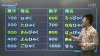 日语学习唐盾新标准日本语初级上册第二课2.5 数字详解