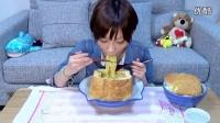 大胃王木下 中文 黑暗料理界的入侵,面包咖喱牛奶乌冬面大乱斗! 【美食杂货铺】
