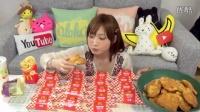 大胃王木下佑哗 木下ゆうか | 麦当劳炸鸡排20个+抹茶冰激凌1盒+三角派20个+汉堡1个+饮料1杯+薯条1包