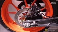 视频: 2016 KTM 390 Duke - Walkaround - 2015 EICMA Mila