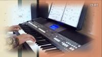 金兰之友-S670电子琴弹奏《爱拼才会赢》