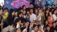 刘德华为4岁女儿庆生 朱丽倩缺席疑藏孕肚 160512