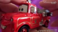 全日玩 TAKARA TOMY多美卡合金车赛车汽车总动员儿童玩具车模 C-35 板牙消防车