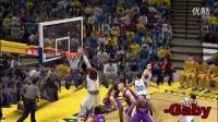 【-Gaby】NBA2K14十佳球利拉德0.9秒绝杀火箭,游戏杂谈游戏