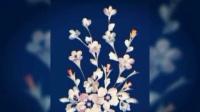 巴马【岜马源减肥金花茶】雪白的萝卜花上有蓬蓬的种子。