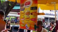 面包冰淇淋,新加坡。