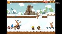 【小枫的独立游戏】小猫突击队2.ep4:雪中对抗,美国队长钢铁侠!