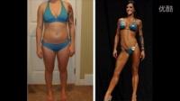赛普健身学院深圳校区丹丹老师分享:女人健身减肥前后的惊人变化,原来你可以那么美!标清