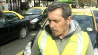 智利的出租车司机抗议打车软件Uber
