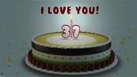 137生日蛋糕祝你生日快乐_标清