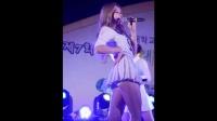 饭拍秀 韩国美女学生装热舞视频