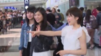 AKB48三成员亲民抵港 获大批男粉丝接机 160517