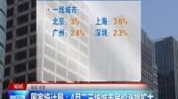 国家统计局:4月二三线城市房价涨幅扩大 160518 两岸新新闻