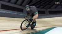 """视频: """"绿巨人""""Ion Göttlich的场地自行车训练"""