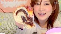 【大食い】銀座木村屋の 特大豆沙面包! 2.5kg 目测8305kcal ¥7500【木下ゆうか】