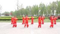 爱舞中国~广场舞~焦家村聚茗茶社舞蹈队~《恭喜发大财》