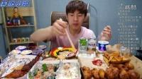 【韩国吃播】奔驰小哥BANZZ之炸鸡烤鸡冰激凌篇