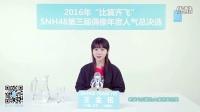 2016.5.24 比翼齐飞SNH48第三届偶像人气年度总决选拉票宣言——王金铭
