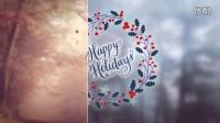 AE模板-水彩藤条花环枝条树叶植物花朵清新生长婚礼爱情工具包模板11099843