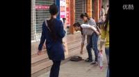 """湘潭街头惊现""""王宝强"""",美女围观解说简直亮瞎眼!"""