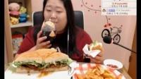 3172韩国吃播吃出个未来·韩国女主播吃货韩国吃播吃饭直播真的是什么都吃,大胃王减肥美食视频美食人生大学生做菜