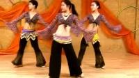 肚皮舞《天竺少女》 舞蹈教学-分解动作五跺步和造型手法