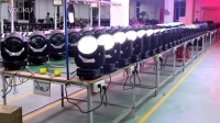 视频: BKLite Workshop 19*15W rgbw 4in1 zoom wash moving head ,sales01@hxylight.com