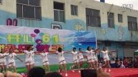 王凤楼镇大拇指幼儿园教师的劲舞表演????