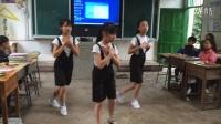 冷家乡中心学校2018级1班 茶话会舞蹈《淋雨一直走》