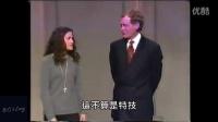 女高中生上脱口秀表演口香糖特技,让全场目瞪口呆!