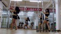 龙岗钢管舞培训艾咪舞蹈培训钢管表演舞性感猫舞