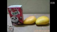 吃货节之小学生自制芒果冰棍