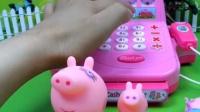 粉红猪小妹的生日蛋糕派对 小猪佩奇学做汉堡其乐融融