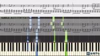弱虫モンブラン Yowamushi Montblanc, 初音ミク Hatsune Miku (鋼琴教學) Synthesia