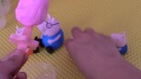 小不点的玩具 2016 小猪佩奇乔治一起制作草莓冰激凌 29