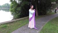 武汉市-紫阳湖-美女古装舞蹈摄影