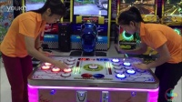 打豆豆游戏机 双人对战 儿童投币游戏机-大风车娱乐设备厂家