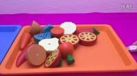 水果切切乐 定格动画 亲子互动小游戏 蔬菜切切乐 益智玩具