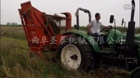 玉米秸秆收割粉碎机 黑麦草回收机 秸秆切碎回收机现场视频