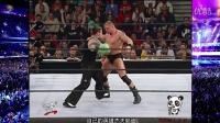 WWE布洛克莱斯纳vs哈迪兄弟精彩剧情(中文解说