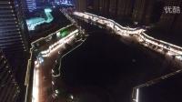夜晚中的厚街万达广场