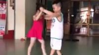 儿童跳恰恰舞