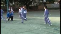 小学体育《跳绳训练课(长绳8字跳)》微课视频,深圳第一届微课大赛视频