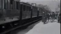 世界上第一部电影{火车到站}World First Film-Arrival of a Train (1895)