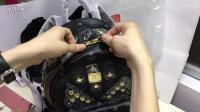 视频: 双肩背包mcm韩国代购双肩包Bigbang同款双肩背包书包旅行包奢侈品招代理免费加盟一手货源一件代发朋友圈高仿精仿一比一复刻正品原版原单微信375959018