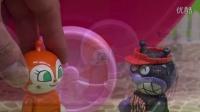 面包超人做冰淇淋 冰淇淋玩具 定格动画