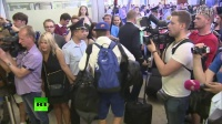 俄罗斯足球运动员回归莫斯科