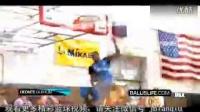 篮球部落-美国高中疯狂扣篮大赛 用脚助攻反身暴扣!