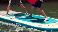 【发现最热视频】卧槽太会玩了!河里打拳击