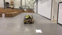 欧铠激光导引智能无人搬运机器人小车自动运行视频案例